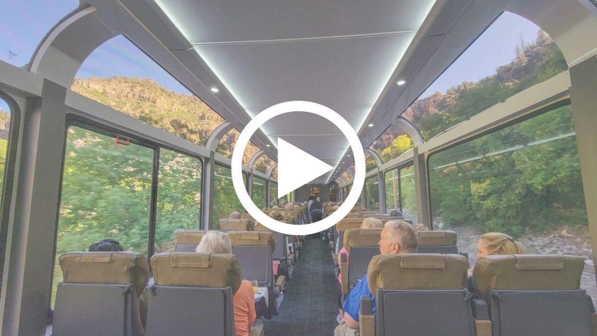 Rocky Mountaineer Colorado experience video
