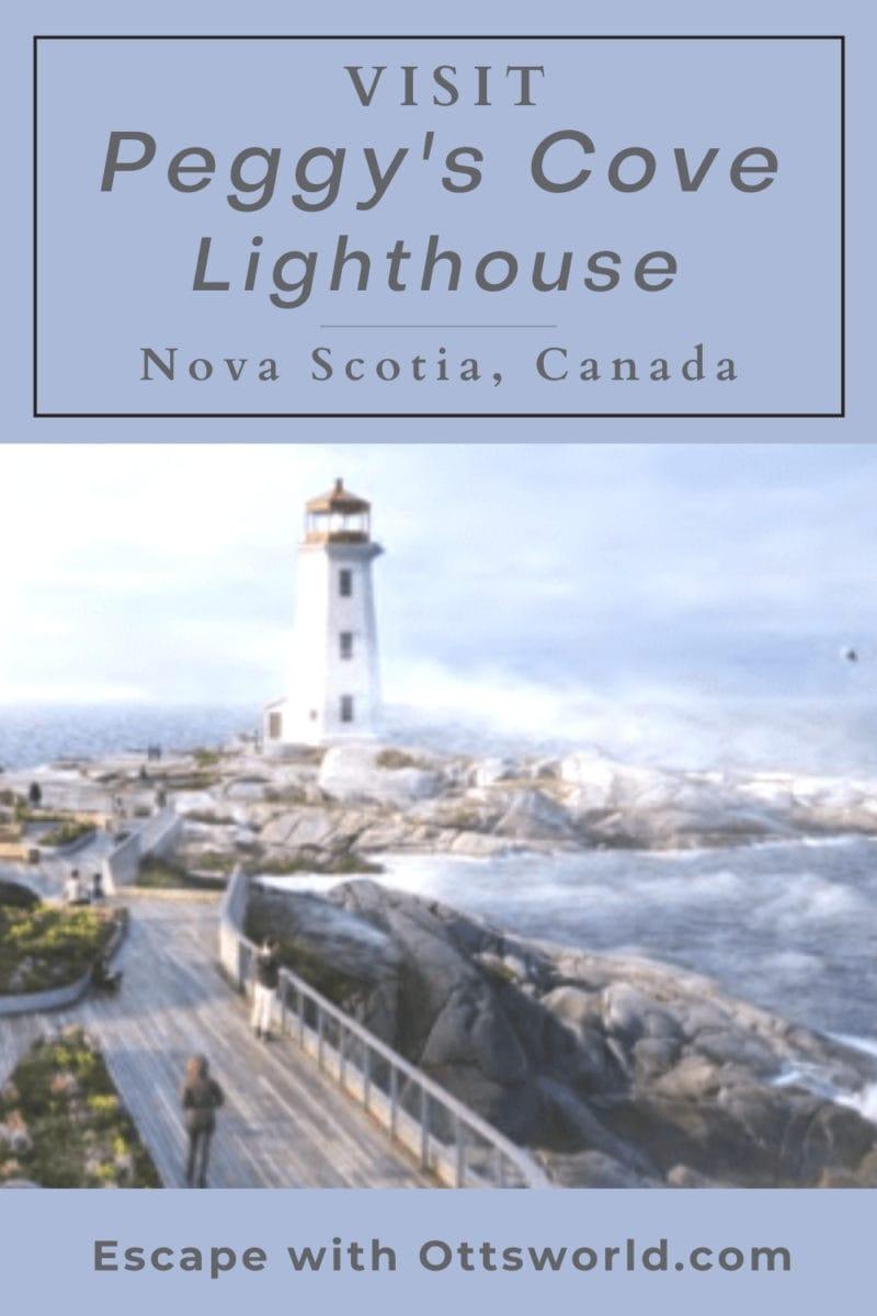 Visit Peggy's Cove in Nova Scotia, Canada