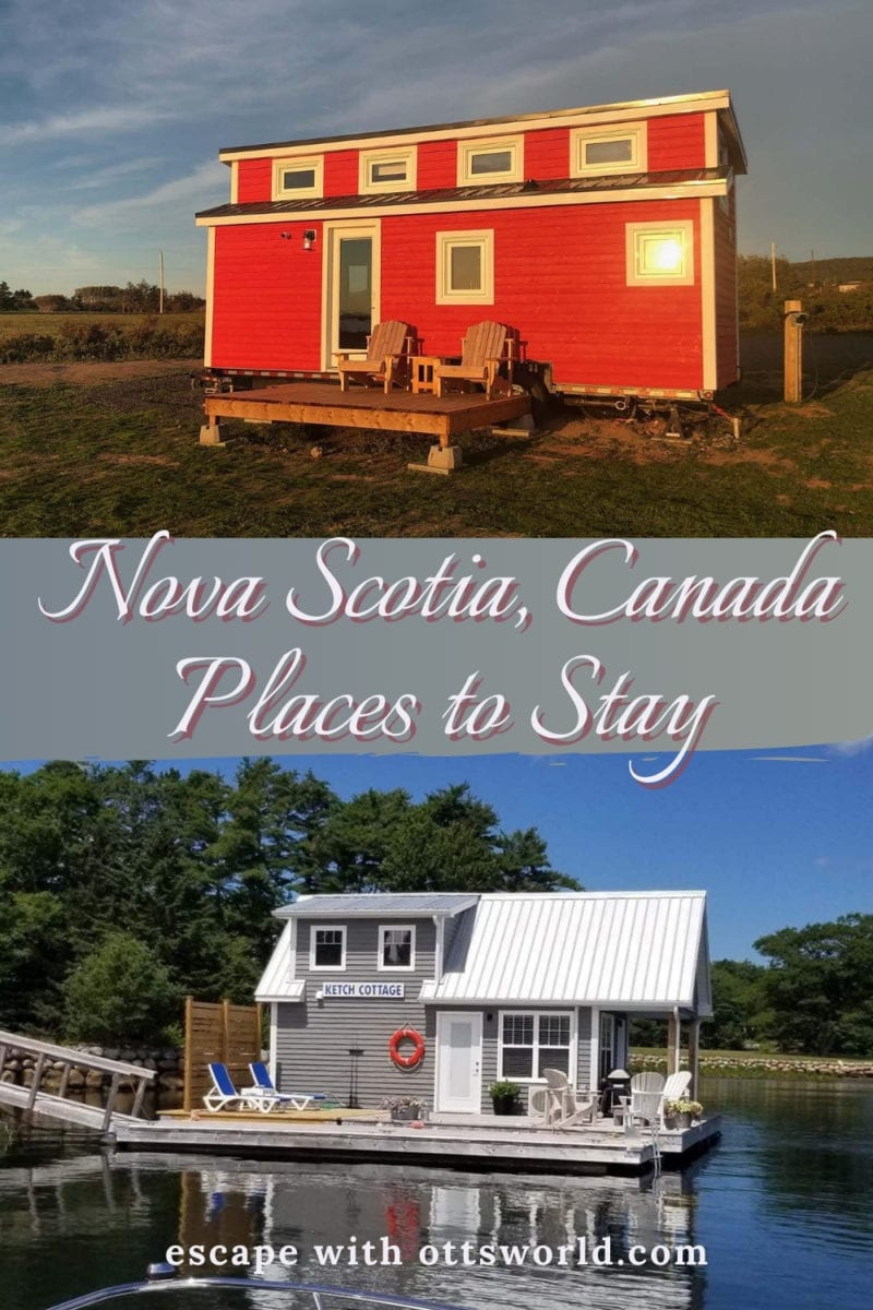 Places to stay in Nova Scotia, Canada