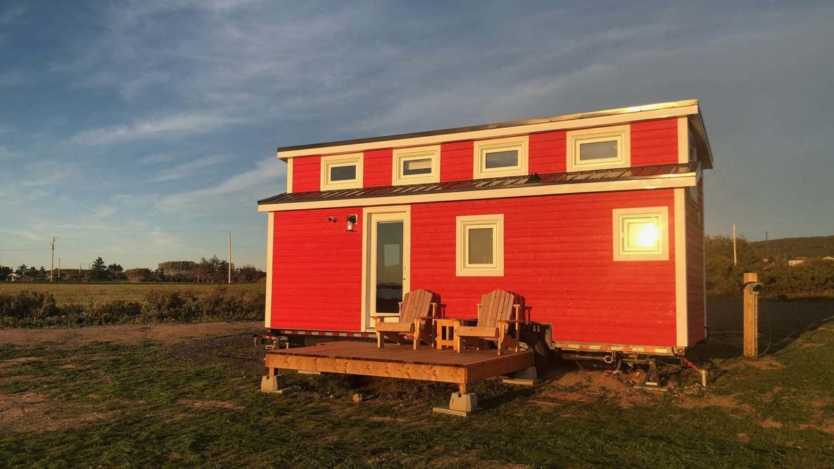 cabot trail tiny home rental