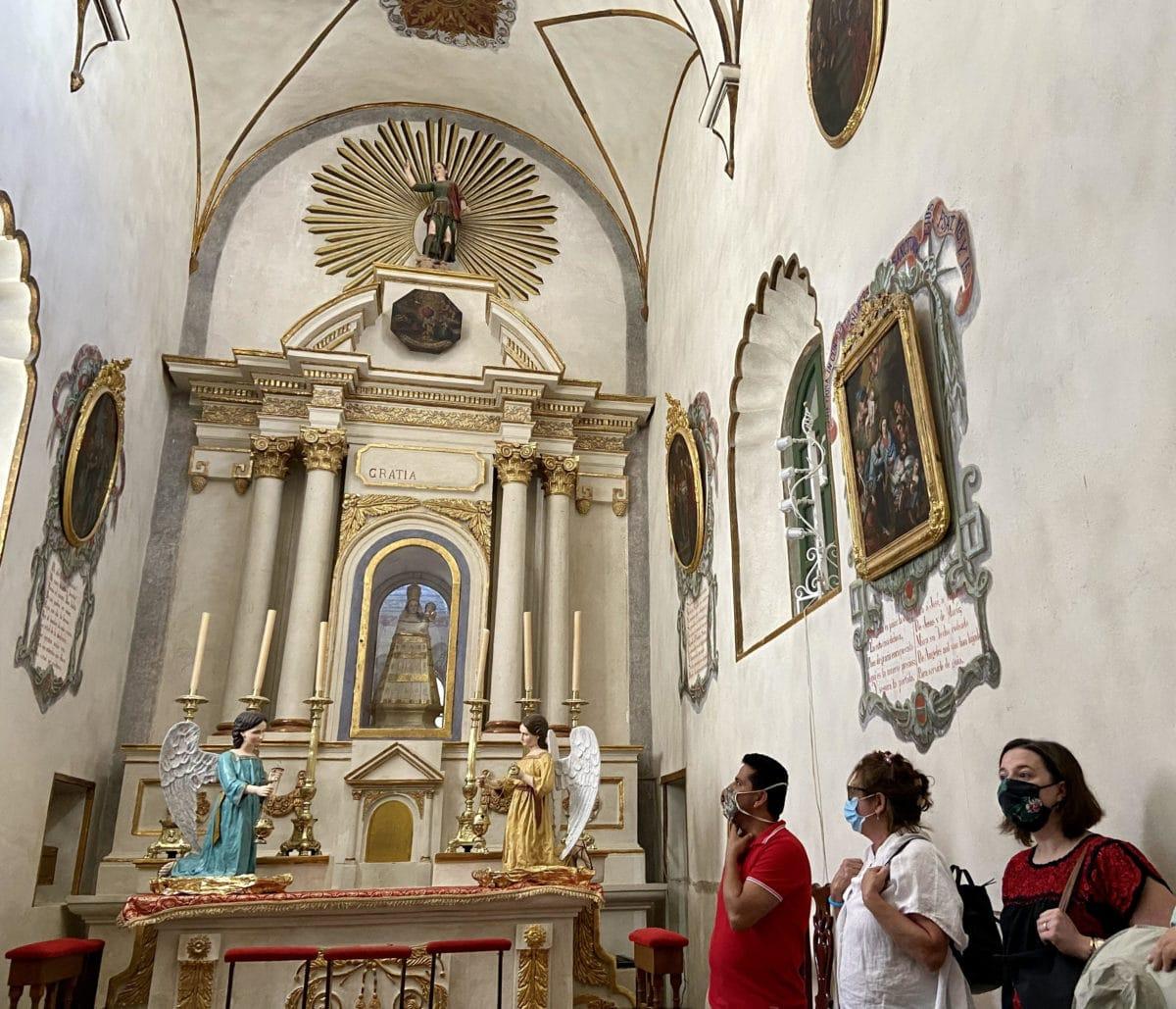 Private tour of Santuario de San Miguel