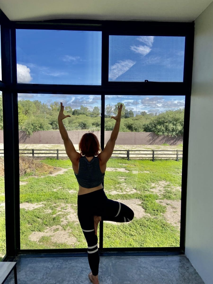 yoga class wellness retreat