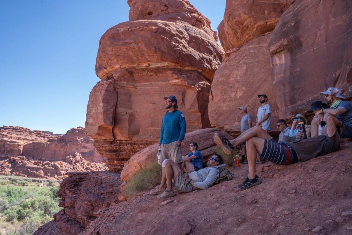 lathrop ruins hike canyonlands