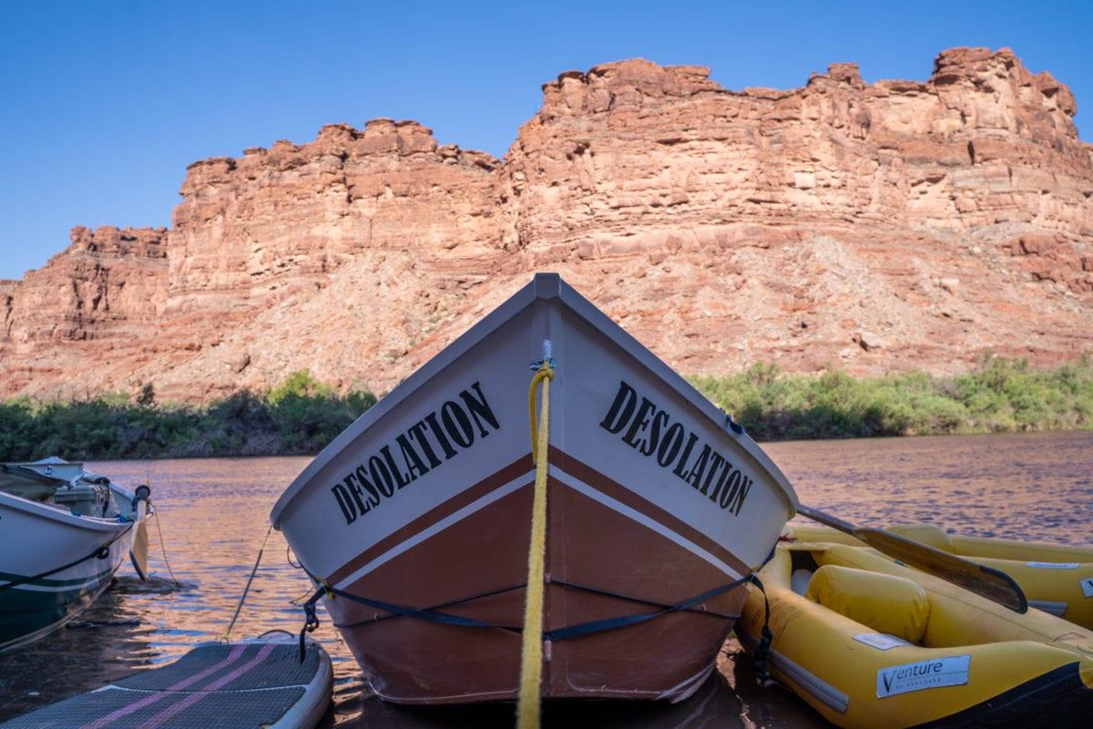 dory on cataract canyon