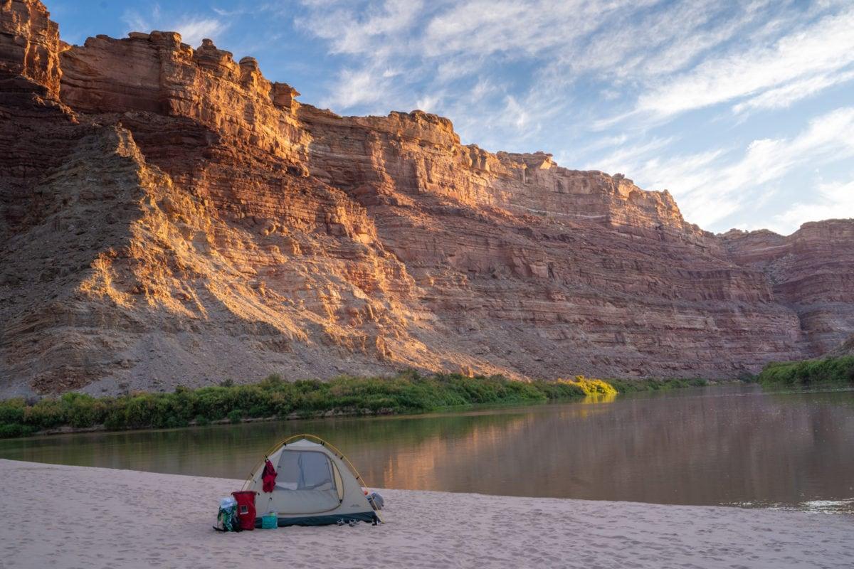 cataract canyon camping