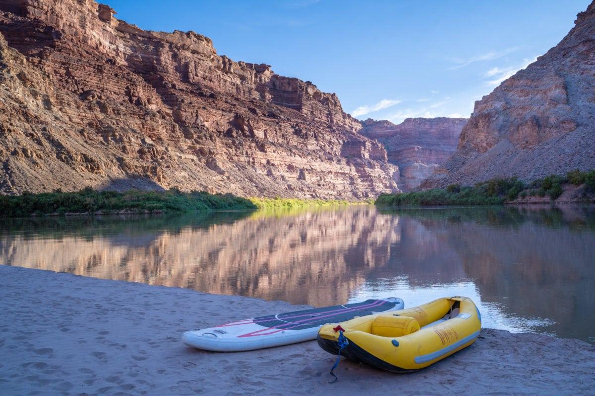 canyonlands colorado river trip