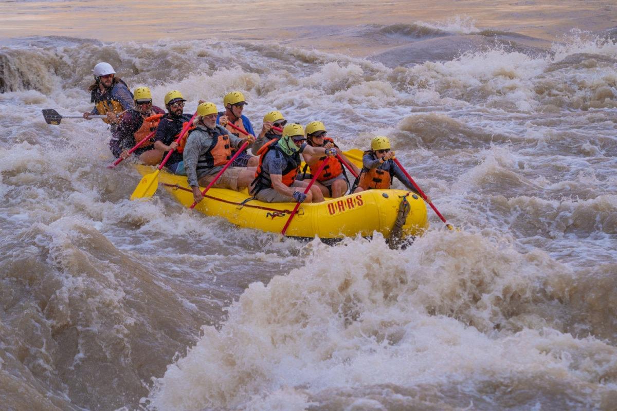 cataract canyon rafting
