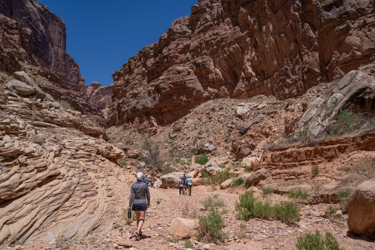 clearwater canyon hike canyonlands