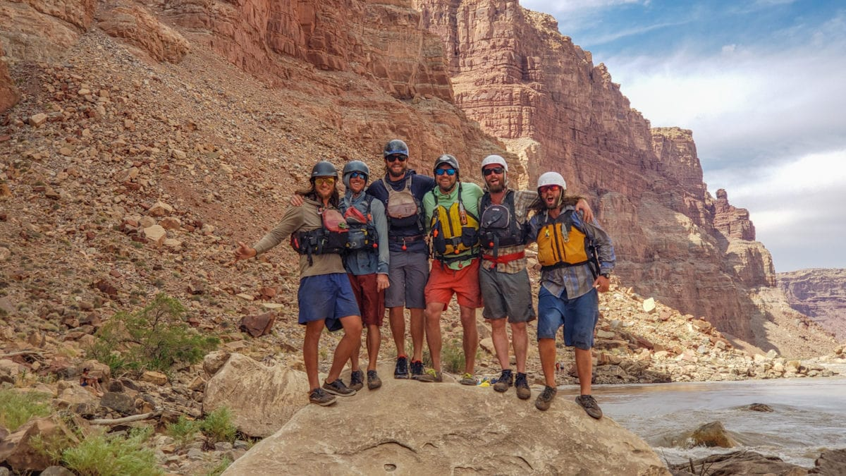 Oars rafting guides