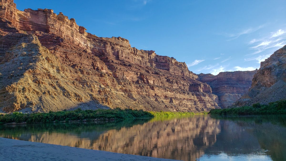 colorado river canyonlands national park