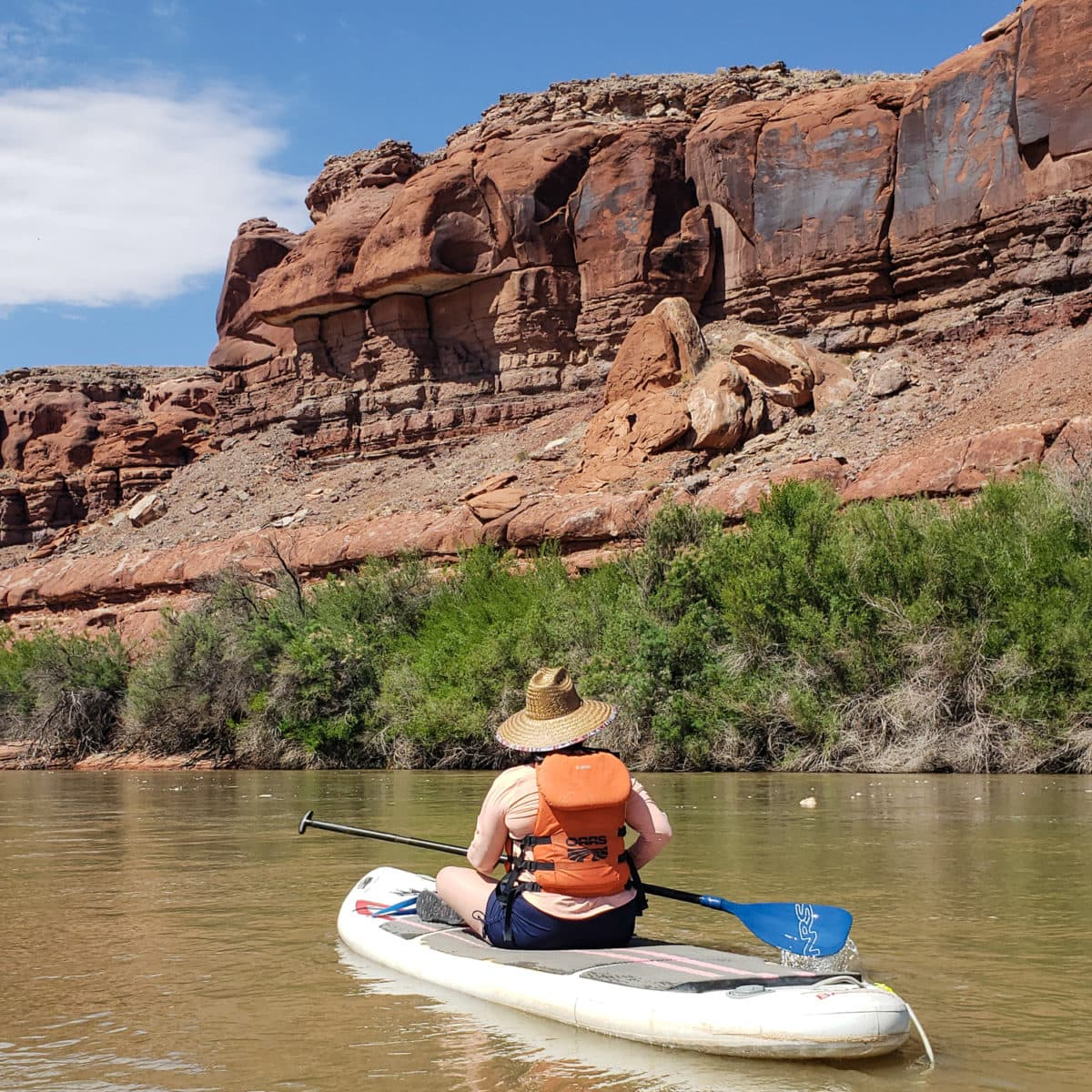 canyonlands sup colorado river