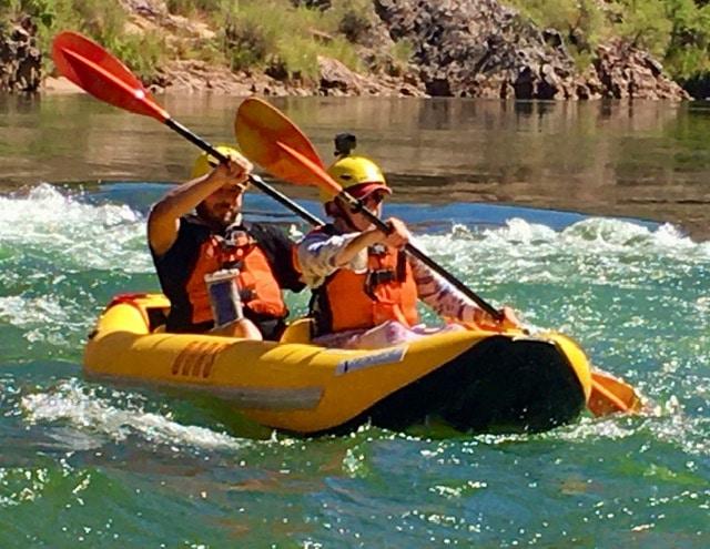 inflatable kayak duckie