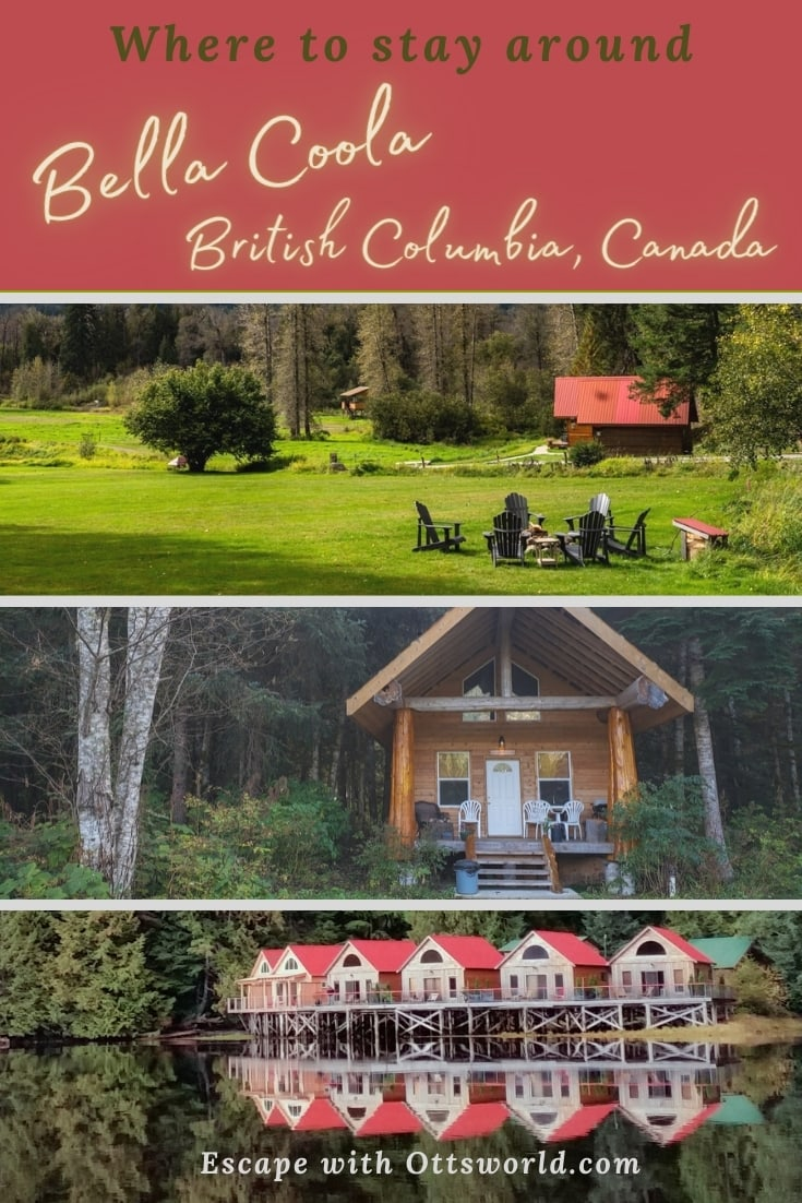 Where to stay in the Bella Coola Valley in British Columbia