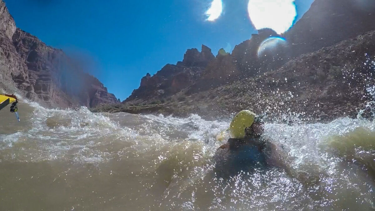 whitewater rescue fear