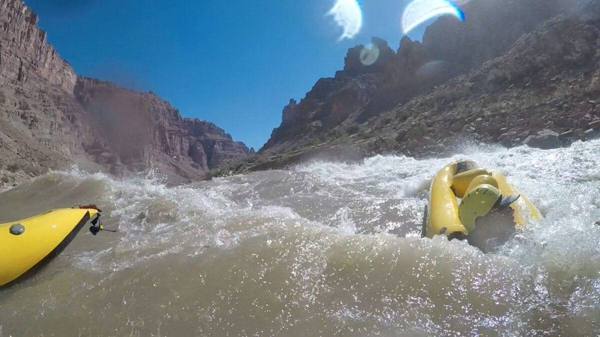 inflatable kayak fear