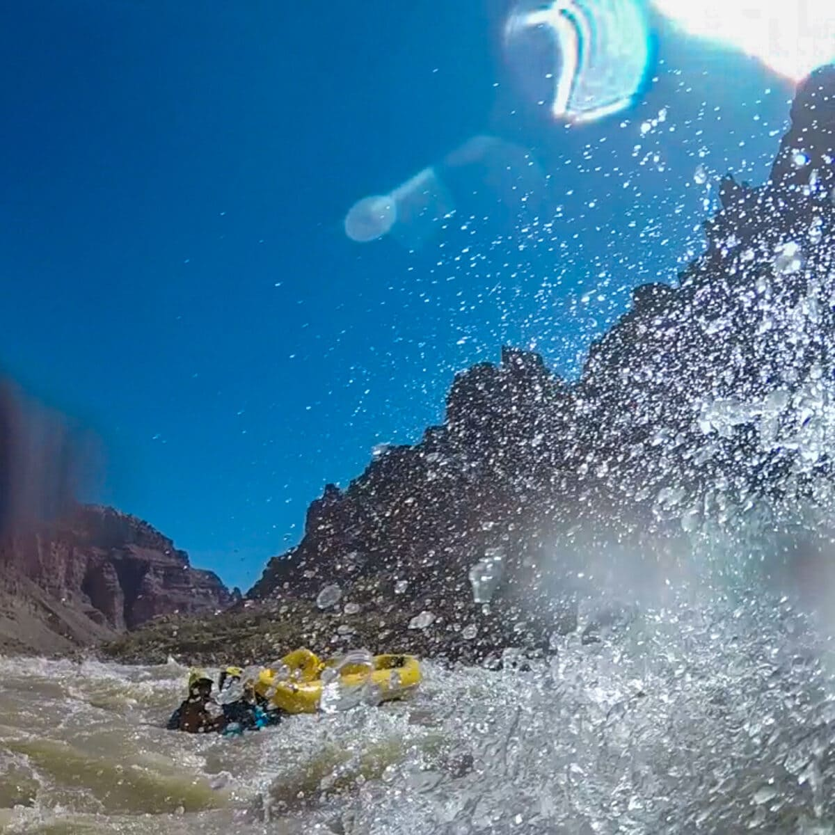 whitewater rescue cataract canyon