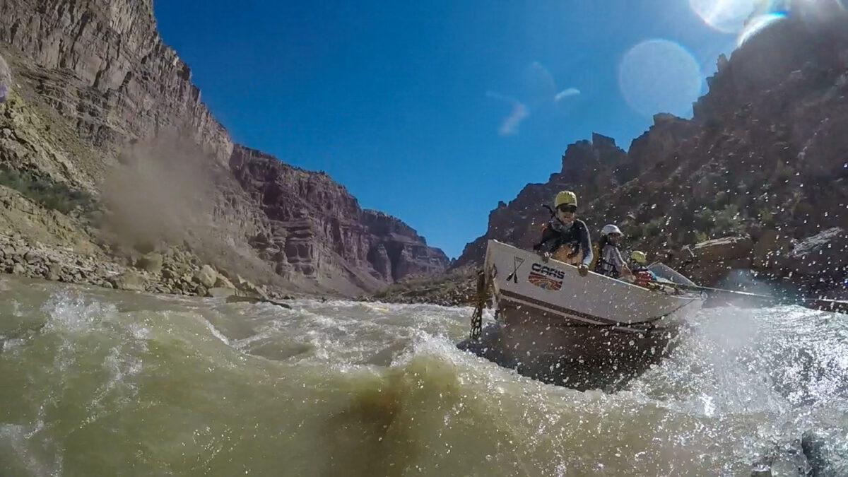 Whitewater rescue colorado river