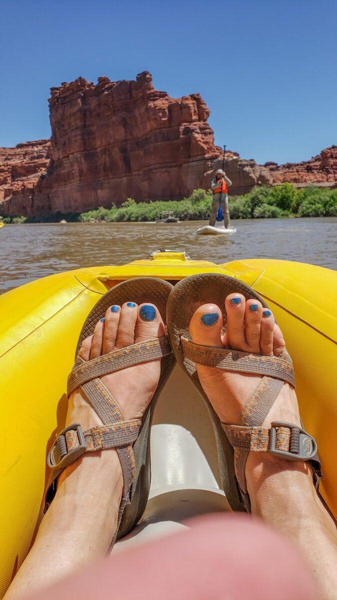 kayaking cataract canyon
